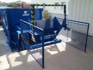 modré Vyklápěcí zařízení na SL 900, SL 1100 z rampy