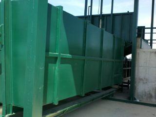 překládací stanice - kontejner