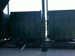 překládací stanice - kontejnery