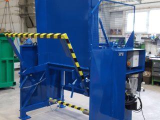 Vyklápěcí zařízení VZ 303 modré