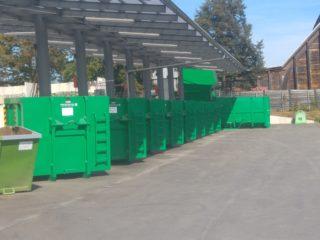 kontejnery překládací stanice