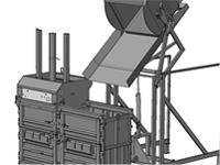 balíkovací lis s tlakem 20 - 100t