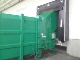 stacionární lis SL 1100 s kontejnerem