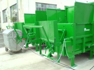 Vyklápěcí zařízení na SL 900, SL 1100 zelené