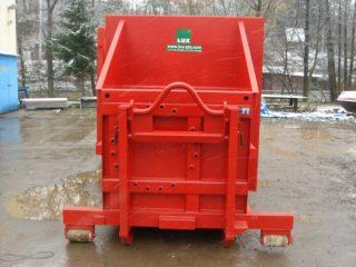 lisovací kontejner LK-S červený