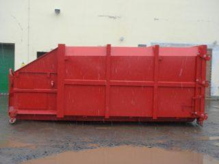 lisovací kontejner LK-S venku
