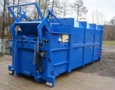 Vyklápěcí zařízení na lisovací kontejner LK-K