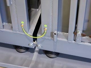 balíkovací lis L12-1+K12 propojení