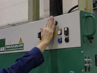 balíkovací lis L20-2 ovládání