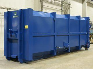 přípojný kontejner pk 30-H modrý