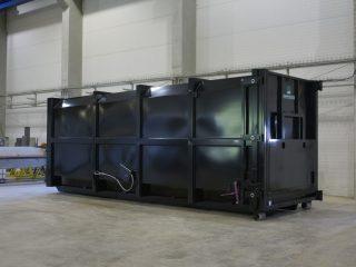přípojný kontejner pk 30-H černý