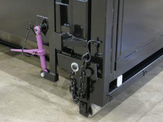 přípojný kontejner pk 30-H detail