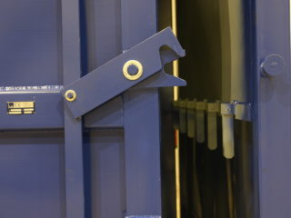 patky pro zajištění dveří přípojného kontejneru