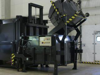 Vyklápěcí zařízení na SL 1500, SL 2300 černé