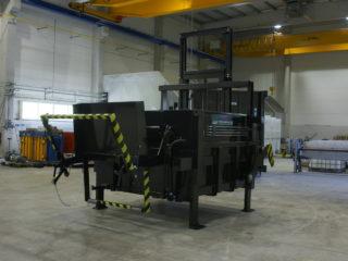 Vyklápěcí zařízení na SL 1500, SL 2300 v provozu