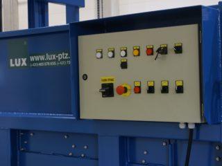 stacionární lis SL 2300 ovládání