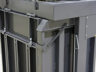 balíkovací lis L5-V detail
