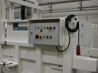 stacionární lis SL 1100-HM ovládání