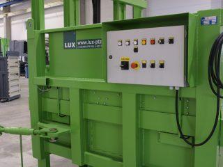 stacionární lis SL 1500-HM ovládání