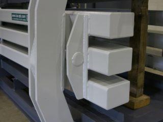 horizontální balíkovací lis konstrukce