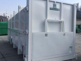 bílý přípojný kontejner PK 33 H