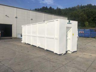 přípojný kontejner PK-34-H-VS bílý