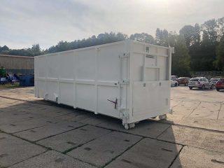 kontejner PK-34-H-VS s vyklápěcí střechou