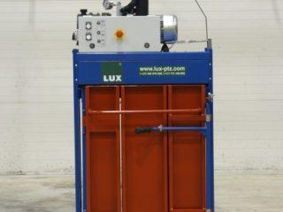 lis na odpad L3-VK od LUX-PTZ červeno-modrý
