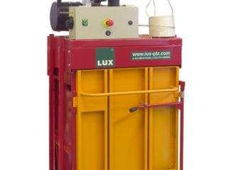 lis na odpad L3-VK od LUX-PTZ oranžovo-červený
