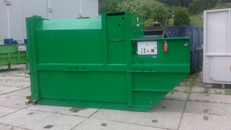 lisovací kontejner řady K-R