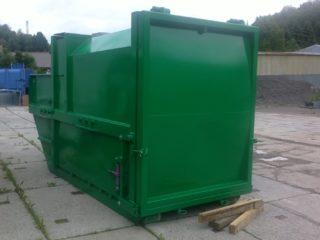 lisovací kontejner LK-KR zelený