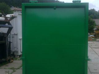lisovací kontejner LK-KR čelo