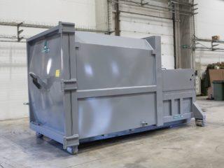 lisovací kontejner LK-M šedý