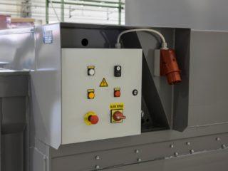 lisovací kontejner LK-M ovládání