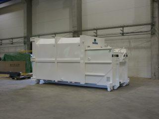 lisovací kontejner LK-K z boku