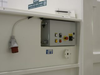 lisovací kontejner LK-K ovládání