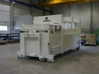 lisovací kontejner LK-K bílý