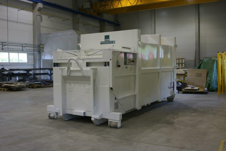 lisovací kontejner řady K