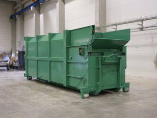 zelený lisovací kontejner LK-K