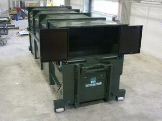 lisovací kontejner LK-K otevřený