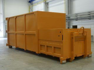 lisovací kontejner LK-V-VS žlutý