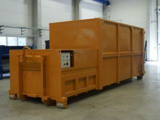 žlutý lisovací kontejner LK-V-VS