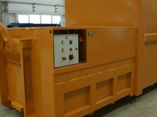 lisovací kontejner LK-V-VS ovládání