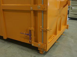 lisovací kontejner LK-V-VS detail