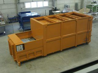lisovací kontejner LK-V-VS shora