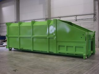 lisovací kontejner LK-V zelený