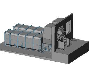 Plnění pomocí vyklápěcího zařízení na jakékoliv druhy nádob