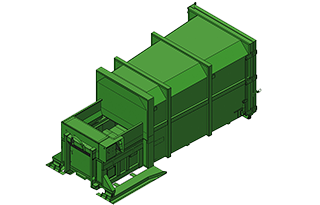 lisovací kontejner LK-M