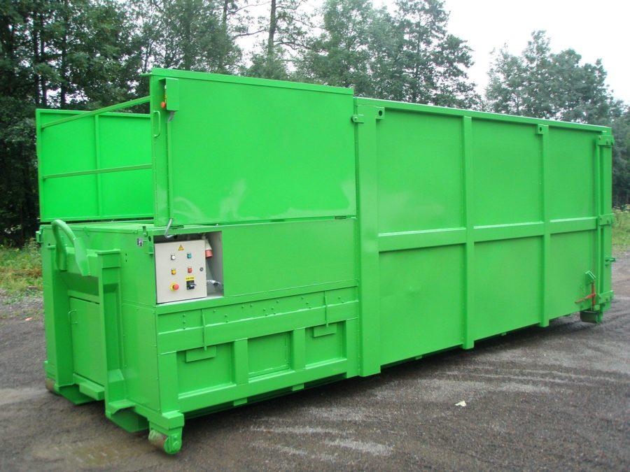 lisovací kontejner řady M-VS