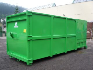 lisovací kontejner LK-M-VS zelený